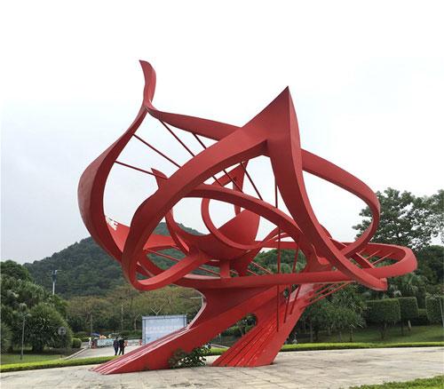 不锈钢广场雕塑