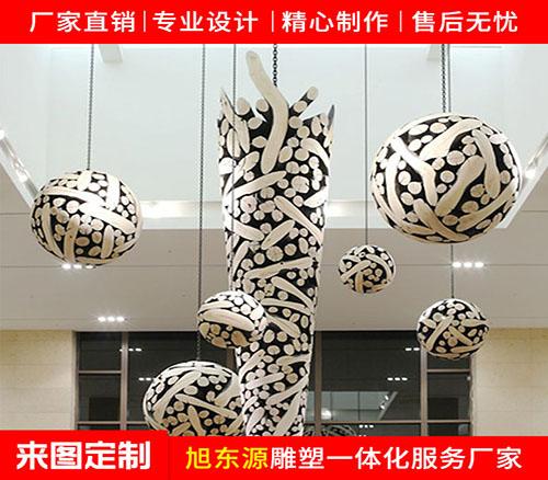大型不锈钢球体雕塑