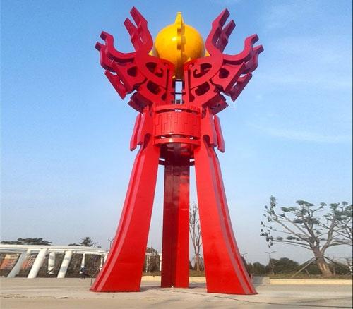 大型不锈钢雕塑