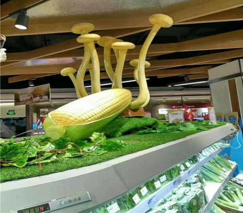 仿真玉米蔬菜泡沫雕塑